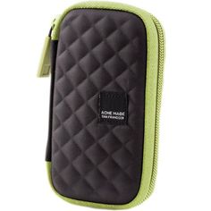 Acme Made - Fillmore 100 Camera Case - Licorice Lime Iphone 4s, Iphone Cases, Point And Shoot Camera, Camera Case, Discount Shoes, Michael Kors Jet Set, Ipod, Bag Accessories, Zip Around Wallet