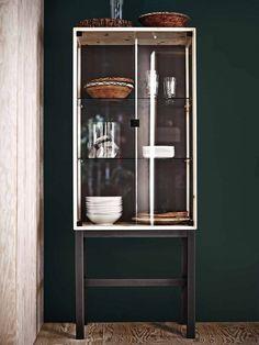IKEA NORNAS glassdoor cabinet