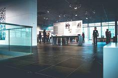 Inside the Topology of Terror museum in Berlin, Germany.