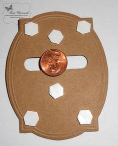 "Tutorial for an ""easy"" spinner card; pinner uses Stampin' Up supplies, but I may be able to figure it out."
