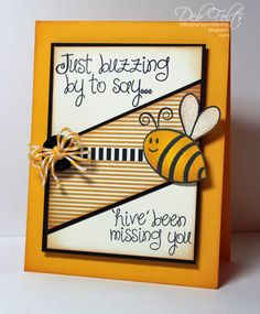 """With a Stamp and a Song: """"hive"""" been missing you!"""