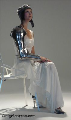 armour as fashion - Google Search maybe only one portion around the heart is armour and the rest is soft                                                                                                                                                     More