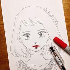 i am hungry | #mekaworks #drawing