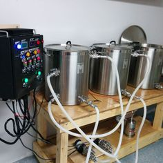 Basement Electric Homebrew Setup
