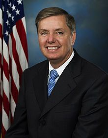 Lindsey Olin Graham (born July 9, 1955) is the senior United States Senator from South Carolina and a member of the Republican Party. Previously he served as the United States Representative for South Carolina's 3rd congressional district.