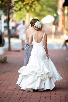Dress Bustles 101 | All About Wedding Dress Bustles | Blog :: Blue Sky Bridal Seattle