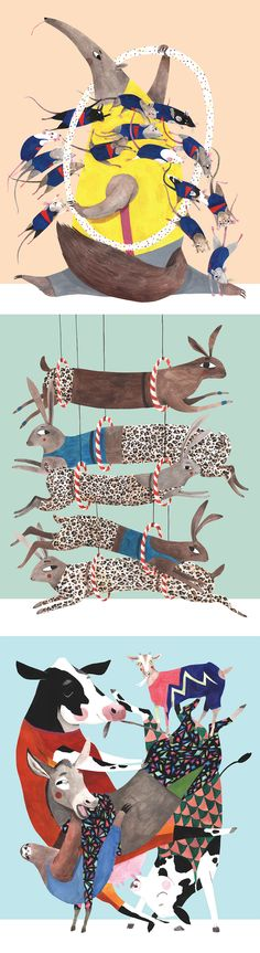 Animal illustrations Lihie Jacob