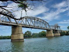 Bridge over the Rio Negro, between Patagones and Viedma