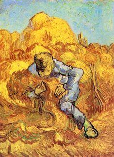 The Sheaf Binder (After Millet) 1889