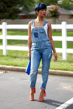 cool Overalls - Wet Seal #yas...