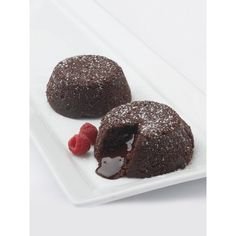 Galaxy Desserts Chocolate Lava Cakes, Set Of 6 ($38) ❤ liked on Polyvore