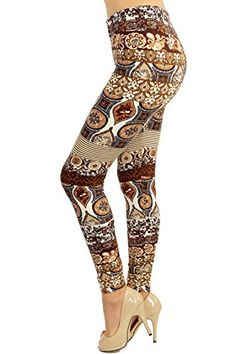 Only your wallet will know these are not LulaRoe Leggings: High Quality Printed Leggings (Rusted Cogs Print): Clothing