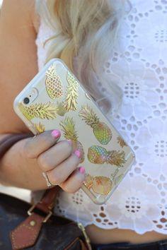 Gold Pineapple iPhone 6 Plus