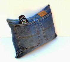 Riciclo creativo: copricuscino in jeans - come cucirlo? Passo dopo passo