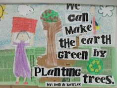 save the earth art