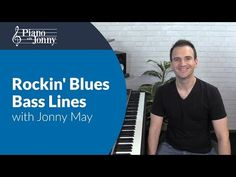Rockin' Blues Bass Lines - Beginner to Intermediate Lesson by Jonny May Jazz Blues, Blues Music, Video Advertising, Music Gifts, Music Theory, Music Download, Piano Lessons, Sheet Music, Bible