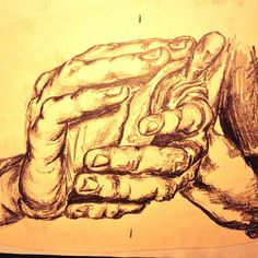 hand study pencil