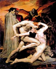 Dante and Virgil in Hell - Google Search