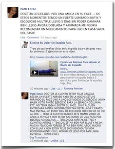 Testimonio 71 - Elimine Su Dolor de Espalda    http://www.ElimineSuDolorDeEspalda.com/blog