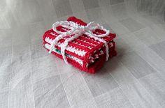 Ravelry: SN0WDR0PS's Mini Dishcloth Krispie Treats, Rice Krispies, Dishcloth, Ravelry, Crochet Patterns, Mini, Desserts, Food, Tailgate Desserts