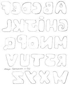Plantilla de letras 1