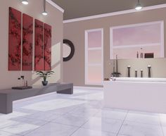 Environments: Bathroom (Shot 3)