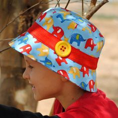 Scout Bucket Hat Pattern | Featured Products | YouCanMakeThis.com