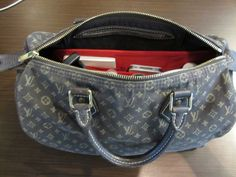 Purse Organizer Insert for Louis Vuitton Speedy 30 Monogram Mini Lin. Emma 28 by CloverSac $22.00