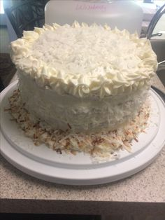 Delicious coconut cake!