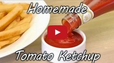 How to Make Tomato Ketchup - Easy Homemade tomato ketchup recipe - Must Watch Video