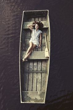 Float Away | weheartit | peaceful | boat | floating | drifting | wooden | row boat | dreaming |
