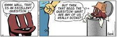 Pooch philosophy on #Gocomics | Read Dog Eat Doug #comics @ http://www.gocomics.com/dogeatdoug/2015/07/18?utm_source=pinterest&utm_medium=socialmarketing&utm_campaign=social | #webcomic #dogs #philosophy