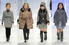 Kids fashion show Abrigos, capas y capuchas: Así abrigaremos a los 'peques' este invierno