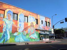 Echo and Sunset Echo Park, Sunset, Architecture, Painting, Art, Arquitetura, Art Background, Painting Art, Kunst