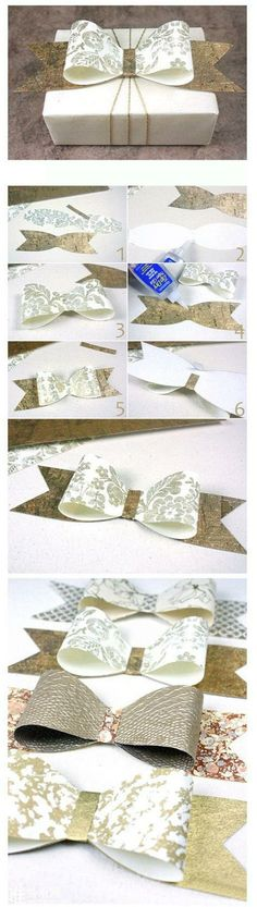 Diy Bow For Gifts