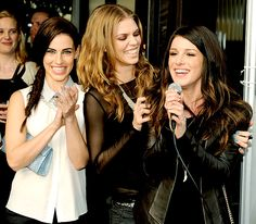 Jessica Lowndes, AnnaLynne McCord and Shenae Grimes marked the end of 90210 at a series wrap party in L.A. March 3.