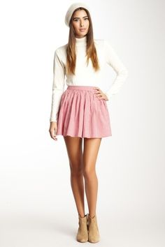 Full Woven Skirt- American Apparel// a little bit longer would be nice