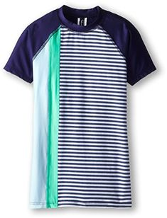 Splendid Big Girls The Blues Too Surf Shirt Navy Small * Continue to the product at the image link.