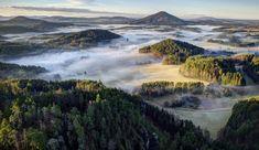 Foggy Bohemian Switzerland Landscapes