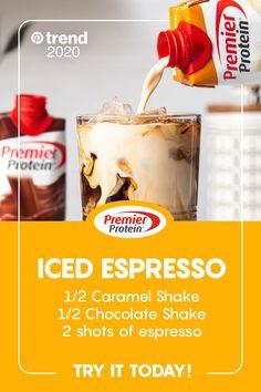 Protein Shakes You& Love Chocolate Protein Shakes, Chocolate Shake, Healthy Shakes, Healthy Drinks, Healthy Meals, Healthy Tips, Protein Shake Recipes, Smoothie Recipes, Smoothies