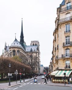 I have actually stood on this corner near Notre Dame cathedral!