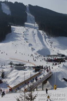 Bukovel, Ukraine - so much snow and chilly weather! I'm ready for it.