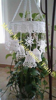 Best 12 crochet patterns in thread – SkillOfKing. Crochet Christmas Decorations, Crochet Christmas Ornaments, Christmas Crochet Patterns, Holiday Crochet, Crochet Snowflakes, Crochet Home, Christmas Bells, Crochet Doilies, Crochet Flowers