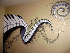 Music Mural by CryingOutLoudArtwork.deviantart.com on @deviantART