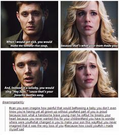 Mary and Dean Winchester | Supernatural