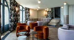 Castelbrac Hotel: Take a look at this stunning hospitality design »This hospitality design is decorated with a resolutely warm elegance and offers an incomparable view of the bay of Saint-Malo. #5starhotel #hospitalitydesign #besthotels BRABBU