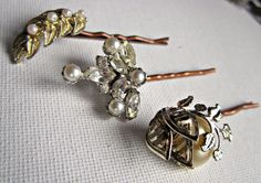 vintage jewelry bobby pins