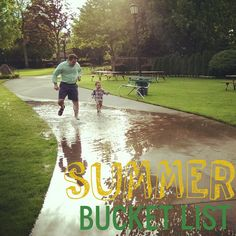 Summer bucket list! 10 must do summer activities!