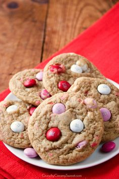 Soft M&M Cookies - you will love how easy and delicious these cookies are!