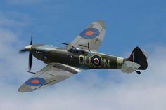 Stíhačka druhé světové války Spitfire